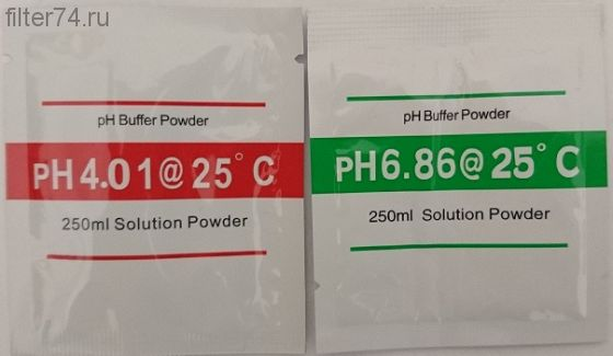 Раствор для колибровки Ph-метра.